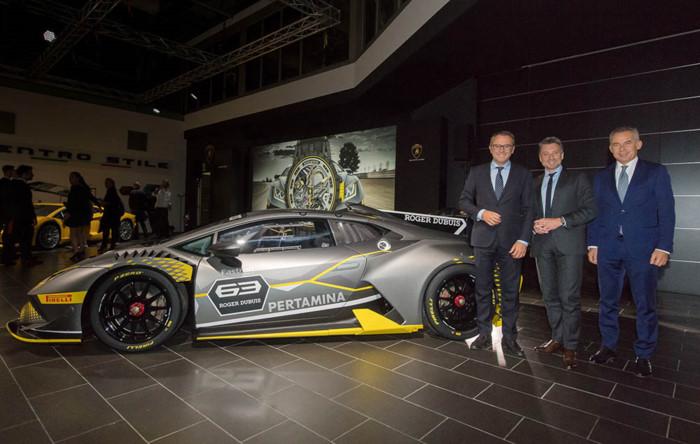 "Lamborghini Huracan Super Trofeo EVO: khi ""bò chiến"" ra quân ảnh 2"