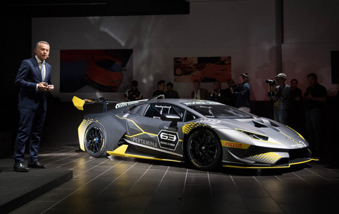"Lamborghini Huracan Super Trofeo EVO: khi ""bò chiến"" ra quân ảnh 1"